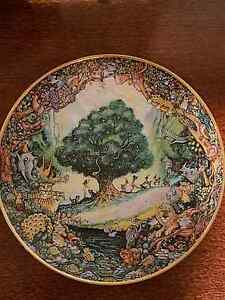 Franklin mint collectable plate adam and eve Warner Pine Rivers Area Preview