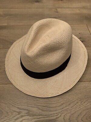 J.Crew Panama Hat Sz M-L