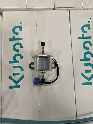 Genuine Oem Kubota Electric Fuel Pump 1g639-52032 For Kubota Tractors Engines