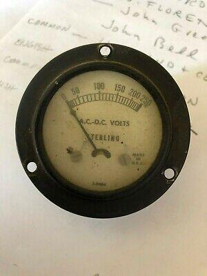 Sterling Ac-dc Volt Meter