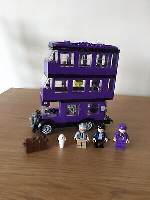 Lego Harry Potter Knight Bus 4866  With Minifigures