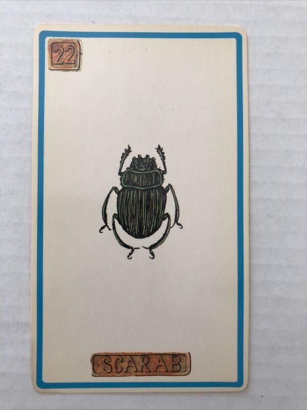 Cartouche Scarab Card 22 Single Card Only No Box