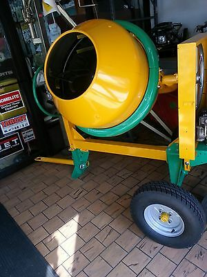 Cement Concrete Mixer 9cu 1 12 Bag Welded 1hp Electric Engine