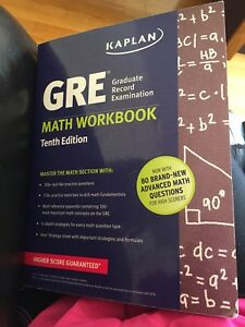 LIKE NEW GRE MATH TEXTBOOK