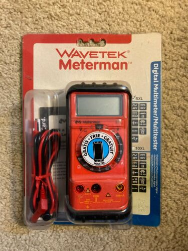 Wavetek Meterman Digital Multimeter 5XL - NEW