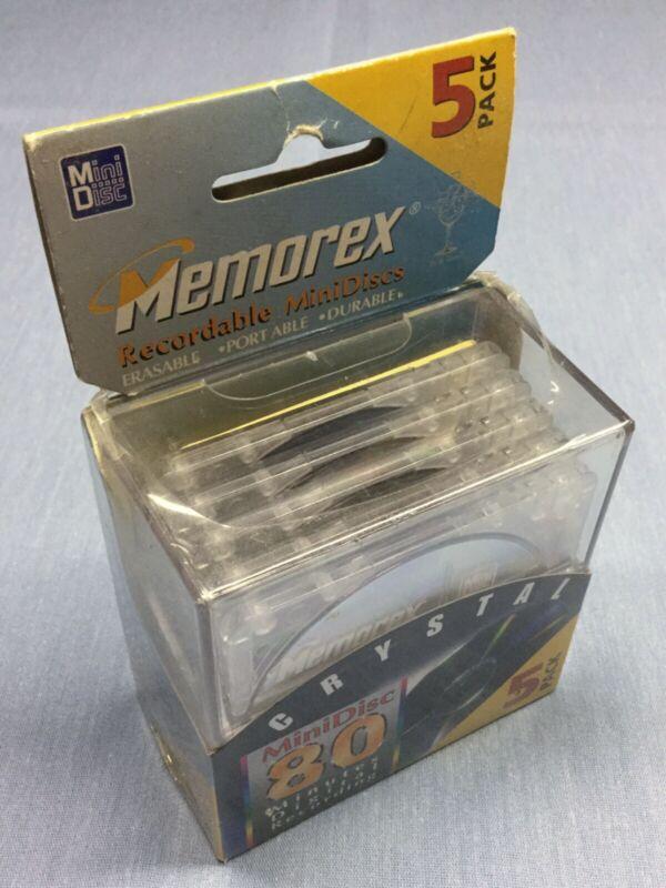 Memorex 80min MiniDisc 5 Pack