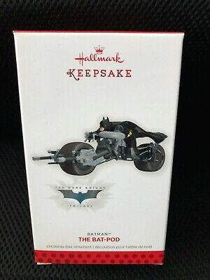 HALLMARK 2013 BATMAN THE BAT-POD LIMITED EDITION ORNAMENT