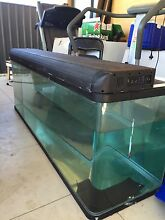 6 ft fish tank with sump, hood, lid and stand Ottoway Port Adelaide Area Preview