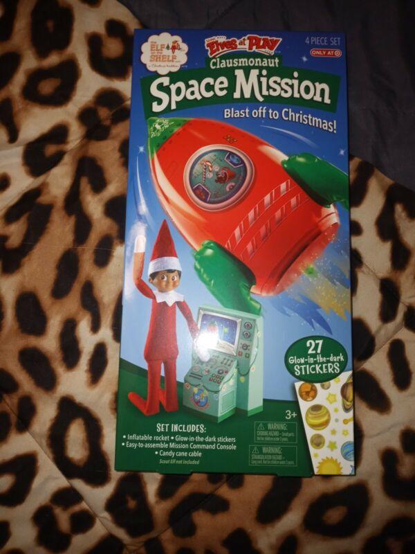 Elf on the Shelf Clausmonaut Space Mission Rocket new