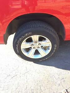 20inch Dodge Ram sport wheels2015 and tires2017