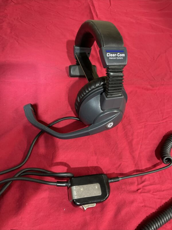 Clear-Com CC-95 Intercom Single Ear Headset