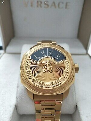 Rare Versace Dylos Jump Hour Automatic Watch Limited Edition 500