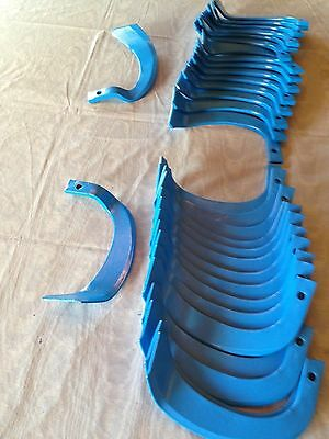 blue tiller blades uses 10 mm bolt 17 left and 17 right with no offsets