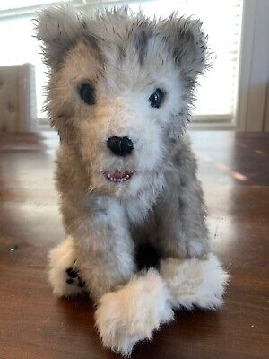 WowWee Alive Siberian Husky Pup Interactive Electronic Plush 2008 Vintage Puppy