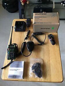 Walkie talkie-walkie Baofeng UV5R camo