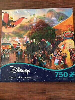 Thomas Kinkade Disney Collection Dumbo Jigsaw Puzzle 750 Pieces