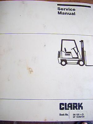 Clark Forklift Manual | Owner's Guide to Business and Industrial