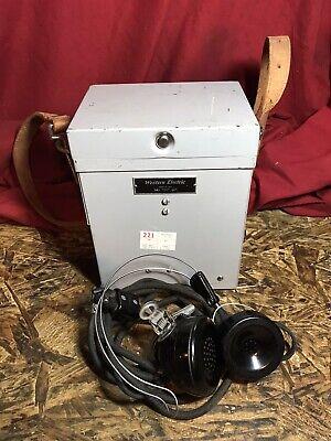 Vintage Western Electric 84a Test Set Lineman Tool