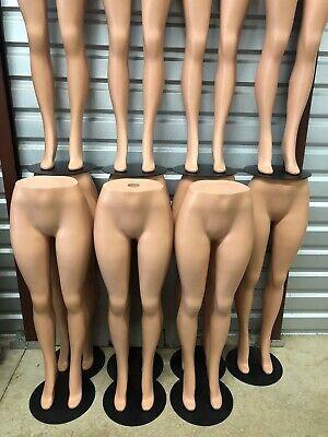 Plastic Unbreakable Female Mannequin Legs Brazilian Hips Roxy Display Ps-lg101