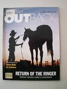 R.M.Williams Outback.  Issue 2 - 10  ISSUE from 1998 Mapleton Maroochydore Area Preview