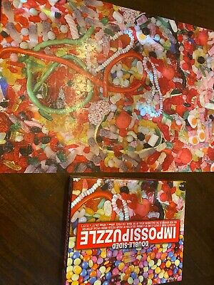 Candy Double-Sided 550 Piece Puzzle by Impossipuzzle- Sweets