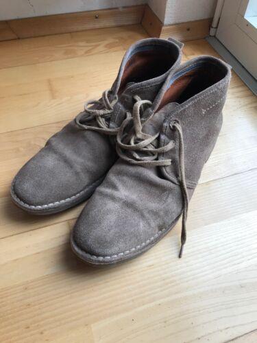 MARC O'POLO Herren Schuhe graubraun Gr. 45 gebraucht siehe Bilder