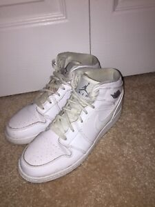 Used Air Jordan Basketball Shoes Size 5 Womens