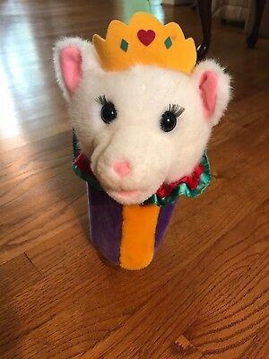 """Dakin Plush Cat Queen Hand Puppet 12"""""""