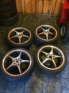 "17"" Car Rims from 4 bolt Civic"