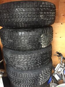 Chevy rims and winter tires