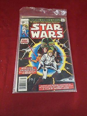 STAR WARS #1 - Marvel Comics July 1977 1st Issue ☆ GREAT Condition!