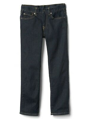 Boys` New GAP Flannel Lined Winter Jeans Ages 4 to 14 Kids Straight Leg