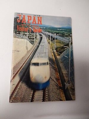 Vintage Japan and the Orient Visitor's Guide Booklet Travel Vacation