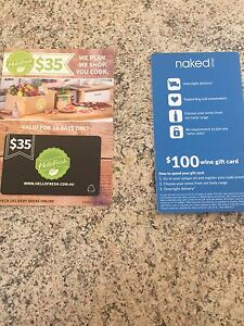 Voucher for wine and fresh food Shortland Newcastle Area Preview