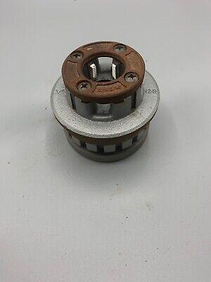 Ridgid 34 Npt 37395 12r 12-r Pipe Threader Die Head Handpower