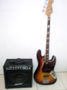 Bass guitar, and amplifier Cranbrook Townsville City Preview
