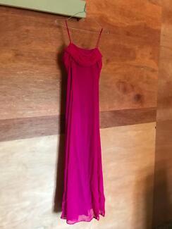 Evening dress, size 8