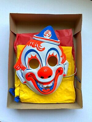 Vintage COSTUME + MASK Collegeville Clown Halloween ROB ZOMBIE Michael Myers