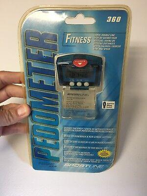 2004 SPORTLINE 360 Fitness Pedometer Proline Series NEW