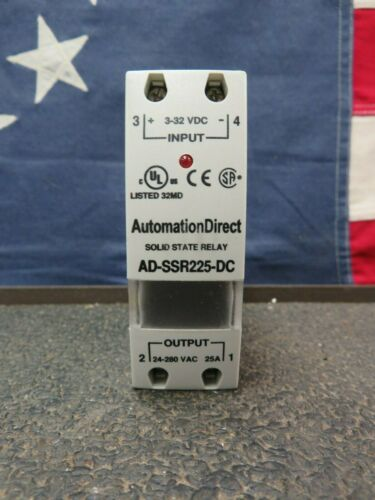 Automation Direct Soild State Relay AD-SSR225-DC  New Old Stock