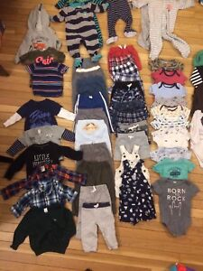Assorted boys baby clothes 6-12 months