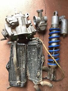 Honda CR 250 / 500 parts barrel, head, carburettor, shock, radiators Delahey Brimbank Area Preview