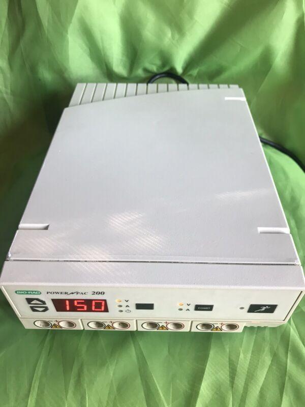 Bio-Rad Electrophoresis Power Supply PowerPac 200