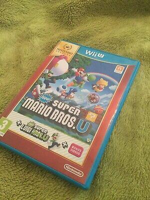Wii U New Super Mario bros + Luigi U VGC
