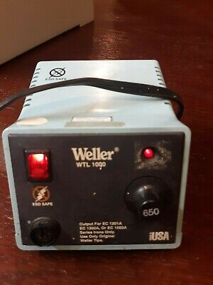 Working Weller Wtl 1000-0 Soldering Station Power Unit 60w 120vac