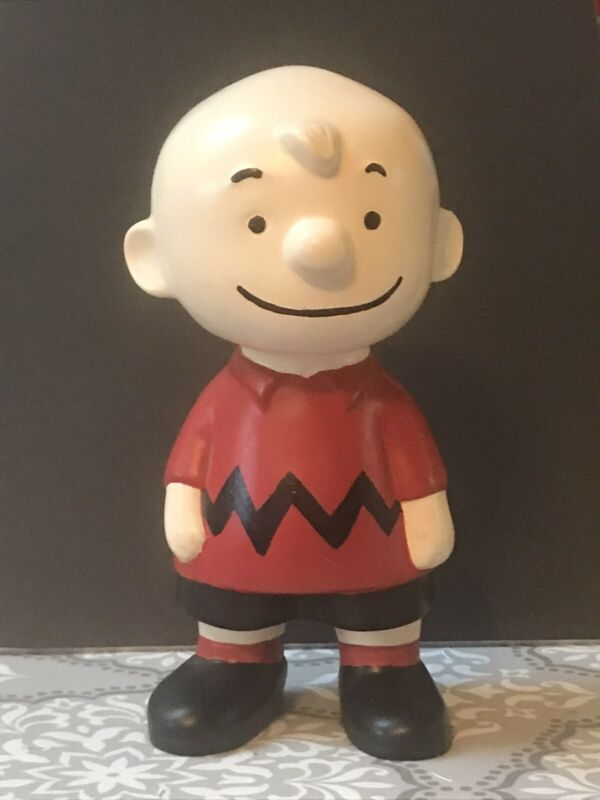 VTG PEANUTS GANG ATLANTIC MOLD CERAMIC FIGURE CHARLIE BROWN
