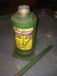 12 ton bottle jack hein - werner