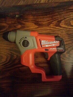 Milwaukee 2416-20 12v 58in M12 Fuel Sds Plus Rotary Hammer - Tool Only
