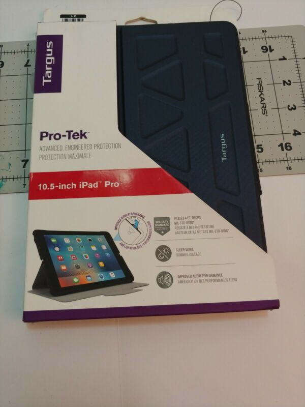 "Targus Pro-Tek Protective Case for Apple 10.5"" iPad Pro Blue THZ67302GL"