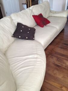 IKEA sectional leather sofa